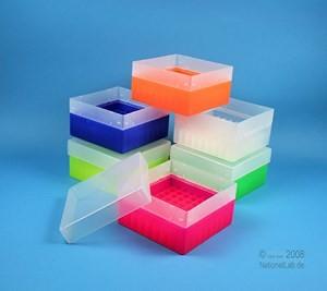EPPi cellBox 15 f, 25 Röhrchen 15ml, neon-orange