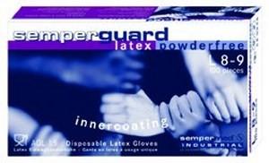 Einmalhandschuh Semperguard Latex puderfrei IC, Gr,M, Pck à 100