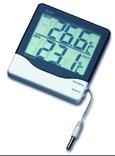 Elektronisches Maxima-Minima-Thermometer, für Innen- und Außentemperatur