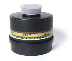 Mehrbereichs-Kombi-Filter DIRIN 230 A2 B2 E2 K2-P3