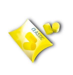 Gehörschutzstöpsel, gelb, Pck, Tasche