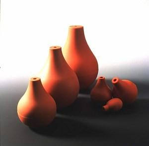 Druckball, birnenförmig