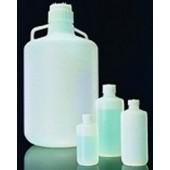 Fluorierte Enghalsflasche, FLPE, PP Schraubverschluss, 1000ml