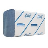 Scott Performance Handtücher, weiß, 215x315mm, 15 Pck à 180 Tücher