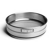 Analysensieb, 200x50mm, Maschenweite 1,00mm, rostfreier Stahl, ISO 3310-1