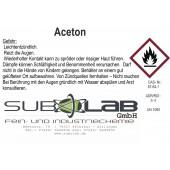 Aceton technisch 1,0 Ltr, Verdünnung,  Entfetter, Reiniger