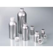 Aluminiumflasche, m, Schraubverschluss, 120ml m, Lebensmittelzulassung