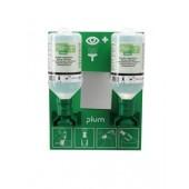 Augen-Notfallstation, 1 x 0,5l Natiumchloridlösung + 1 x 0,2l Phosphatgepuffert