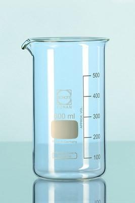 Beaker, Duran, tall form, cap. 400 ml