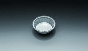 Aluminium dishes, 110 ml, 25mm, pack of 100