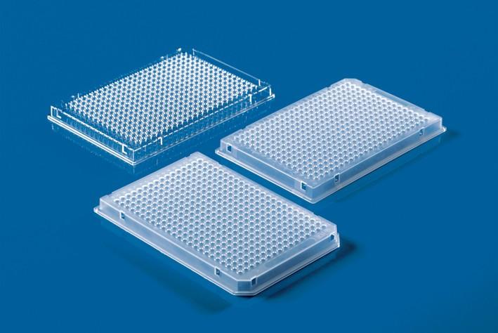 384-well PCR plates, full skirt, PP, pack of 50