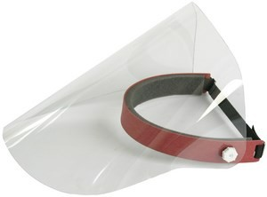 Spare visor for face visor Contracid