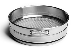 Test sieve ISO 3310-1, 4.00 mm, 200 x 50 mm, stainless steel