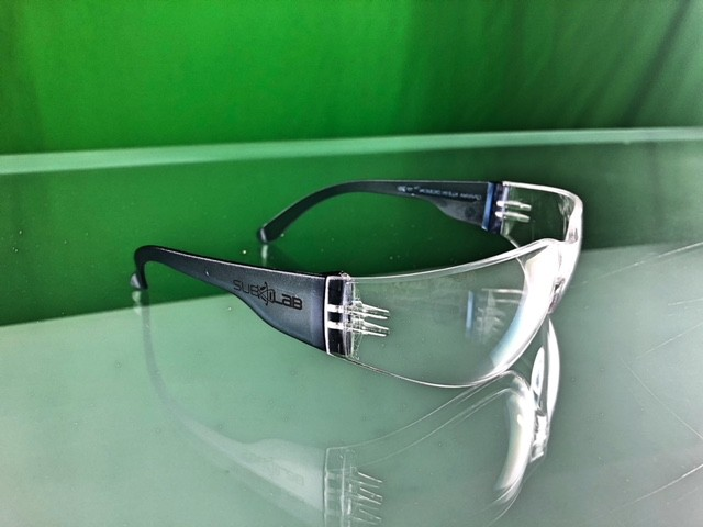 Safety Spectacle CARINA KLEIN DESIGN 12720, clear
