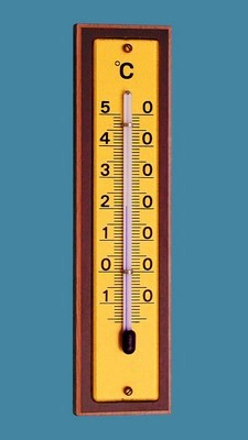 Room thermometer, natural beech, -20° - +50°C