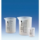 Beaker, ETFE, graduated, capacity 25 ml