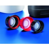 Blister closure, PP, red, 45 mm