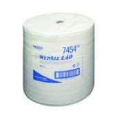 Wypall L40 wipes, blue, 330 x 380 mm, roll of 750 wipes