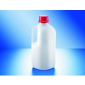 UN-narrow mouth bottle, PEHD, Safe Grip, cap. 2500 ml, without closure
