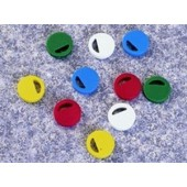 Cryogenic vial closure colour coder, PS, Nalgene, white