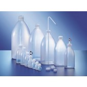 Bottle, narrow mouth, PELD, without screw cap, capacity 1000 ml