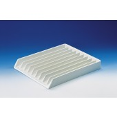 Pipette tray, PVC, 9 dividers, open on one side