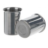 Beaker, st. steel, with rim and spout, capacity 250 ml