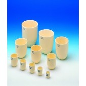 Alsint crucible, high form, diam. 33 mm, height 40 mm, 20 ml