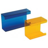 Wipe dispenser, orange, for boxes 120 x 80 mm